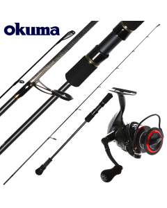 Okuma Master Light Spin Jigging 7ft 40g Max - Combo