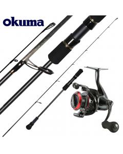 Okuma Master Light Spin Jigging 6.3ft 60g Max - Combo