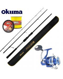 Okuma Pulse Pro Beach / Boat Casting 9ft - Medium Light - Combo