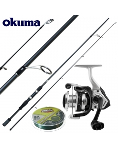 Okuma Starter Prentice Deluxe Extreme 7ft - Medium Light - Combo