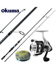 Okuma Starter Prentice Deluxe Extreme 7ft - Medium Light - Combo