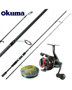 Okuma Starter Deluxe Power 7ft - Medium Light - Combo