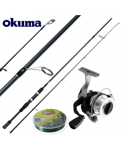 Okuma Starter Prentice Deluxe Extreme 6.6ft - Medium Light - Combo