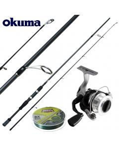 Okuma Starter Prentice Deluxe Extreme 6.6ft - Medium Light - Combo
