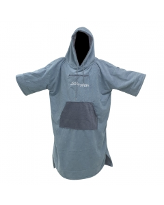 Fish2spear Poncho Towel (Grey/Turquoise)