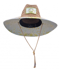 Qassar Sunshade Straw Wood Hat - Jesh