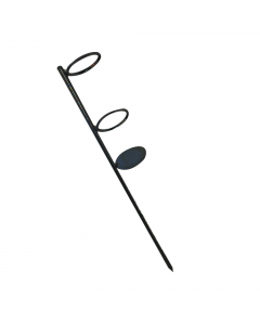 Beach Rod Holder - Black