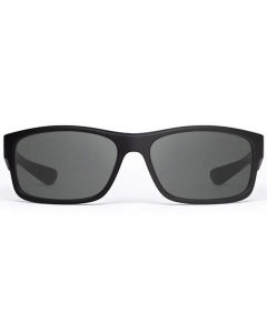 Nines Santee SA011-P Polarized Sunglasses (Matte Black / Smoke Gray)