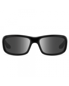 Nines Shasta SH011-P Polarized Sunglasses (Matte Black / Smoke Gray)
