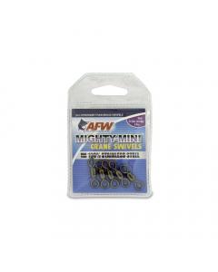 AFW Mighty Mini Stainless Steel Crane Swivels - Gun Metal Black