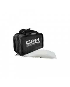 C&H King Rig Bag with 50 Rig Bags Inside - Black
