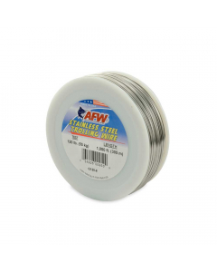 AFW T304 Stainless Steel Trolling Wire 120lb | 305 m - Bright
