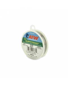 AFW Surfstrand, Bare 1x7 Stainless Steel Leader - Bright