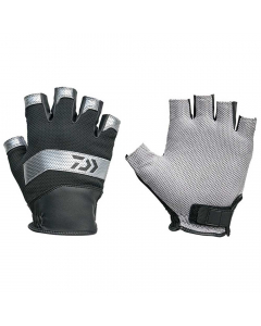Daiwa DG-31009 Nano Front Mesh Cool Glove - Silver (Size: L)