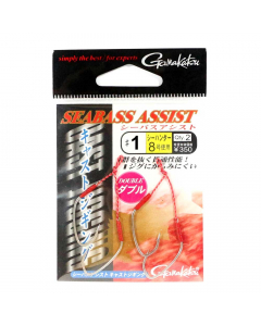 Gamakatsu Sea Bass Assist Cast Jigging