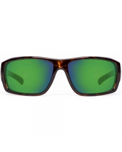 Nines Sturgeon Polarized Sunglasses (Tortoise / Amber Brown Lens Green Mirror)