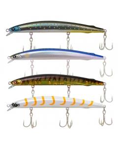 Yasi King Fish Shallow Runner Slow Sinking Lure Set 16g (Pack of 4)