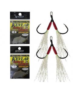 Senses Kevlar Micro Assist Extra Heavy Duty Hooks