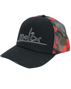 Molix Destroyed Hat 2.0 (Black/Red)