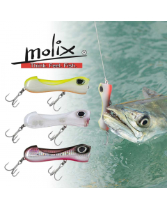 Molix S Popper Casting Lure Combo for King Fish (Pack of 3)