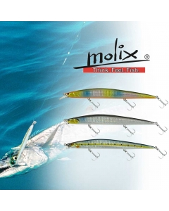 Molix Jugulo Jerk 140 Minnow Long Casting Set for King Fish (Pack of 3)