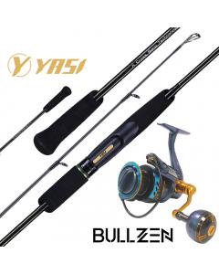 Yasi Al Yasat Premium 6.2ft Light Jigging Spinning 180g Combo
