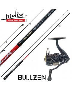Molix Fioretto Ultra Light Spinning Jigging 5g max Combo