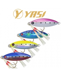 Yasi Yas Semi Slow Light Jigging 27g - Hamour / Sherry - Jig (Pack of 4)