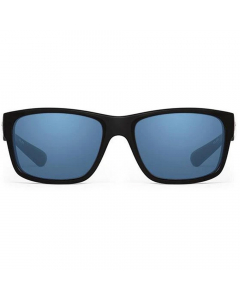 Nines Toledo TL013-P Polarized Sunglasses (Matte Black / Copper Lens Light Blue Mirror)