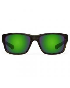 Nines Toledo TL095-P Polarized Sunglasses (GreenDrift / Amber Brown Lens Green Mirror)