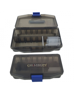 Crimson Mutliplex CSI Tackle Box - Black