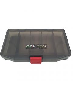Crimson Medium Tackle Box - Black