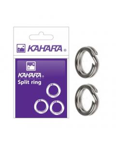 Kahara Split Ring, Silver, Pack of 10