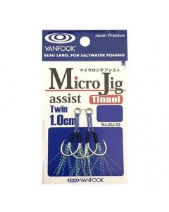 Vanfook MJ-03 Micro Jig Twin Assist 1cm