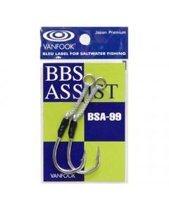 Vanfook BSA-99 BBS Assist Hooks, Pack of 2 (Size: 5/0)