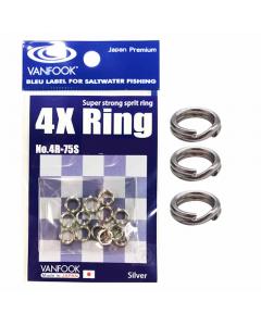 Vanfook 4R-75S Split Rings
