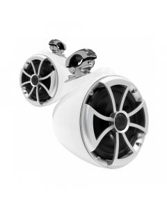 "Wet Sounds ICON Series 8"" Tower Speaker With Swivel Clamps - White"