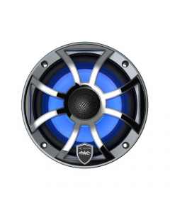 "Wet Sounds XS-S High Output Component Style 8"" Marine Coaxial Speakers - Silver"