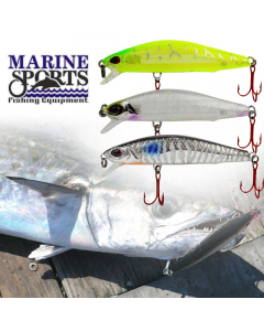 Marine Sports Raptor Minnow 120 Casting Lure Set for King Fish (Pack of 3)